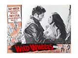 WILD WHEELS, Robert Dix (left), 1969 Prints