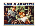 I AM A FUGITIVE FROM A CHAIN GANG, Edward McNamara, Paul Muni, 1932 Posters