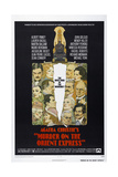 MURDER ON THE ORIENT EXPRESS, US Poster, 1974 Plakater