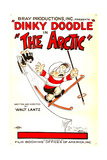 THE ARCTIC (aka DINKY DOODLE IN THE ARCTIC), Dinky Doodle (right), 1926. Prints