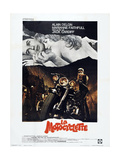 THE GIRL ON A MOTORCYCLE (aka LA MOTOCYCLETTE) Affiche