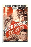 BUCK ROGERS, Larry Crabbe in 'Chapter 9: Bodies Without Minds', 1939 Print