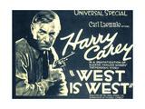 WEST IS WEST, Harry Carey, 1920. Prints