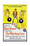 THE WRECKING CREW, Australian poster, Dean Martin, 1969 Posters
