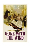 GONE WITH THE WIND, Vivien Leigh, 1939 Reproduction giclée Premium