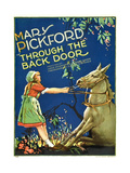 THROUGH THE BACK DOOR, Mary Pickford, 1921. Poster