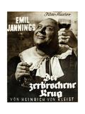 DER ZERBROCHENE KRUG, German poster, Emil Jannings, 1937 Prints