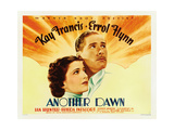 ANOTHER DAWN, from left: Kay Francis, Errol Flynn, 1937 Posters