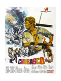 CHUBASCO, US poster, Richard Egan, 1967 Poster