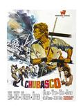 CHUBASCO, US poster, Richard Egan, 1967 Poster