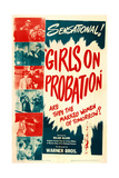 GIRLS ON PROBATION Posters