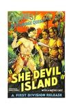 SHE DEVIL ISLAND (aka IRMA LA MALA), 1936 Posters