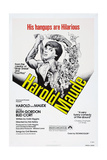 HAROLD AND MAUDE, US poster, Bud Cort, 1971 Prints