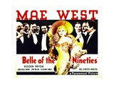 BELLE OF THE NINETIES, Mae West, Roger Pryor, 1934 Prints