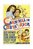 CARNIVAL IN COSTA RICA Posters