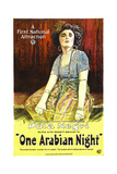 ONE ARABIAN NIGHT, (aka SUMURUN), Pola Negri, 1920 Posters