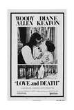 LOVE AND DEATH, US poster, from left: Woody Allen, Diane Keaton, 1975 Posters