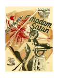 MADAM SATAN, Kay Johnson, window card, 1930. Plakaty