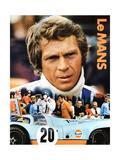 LE MANS, Steve McQueen, 1971. Poster