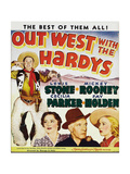 OUT WEST WITH THE HARDYS Posters