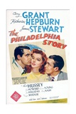The Philadelphia Story, Cary Grant, Katharine Hepburn, James Stewart, 1940 Posters