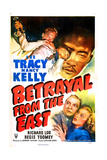 BETRAYAL FROM THE EAST, US poster, bottom right: Lee Tracy, Nancy Kelly, 1945 Posters