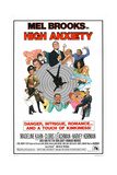 HIGH ANXIETY, US poster, Mel Brooks (top center), 1977 Prints