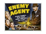 ENEMY AGENT, 1940 Láminas