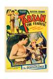 TARZAN, THE FEARLESS Art