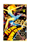 FLYING DOWN TO RIO, midget window card, 1933. Prints