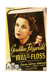 THE MILL ON THE FLOSS, US poster art, from left: Geraldine Fitzgerald, Frank Lawton, 1937 Posters