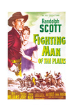 FIGHTING MAN OF THE PLAINS Print