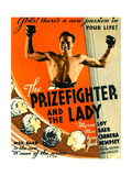 THE PRIZEFIGHTER AND THE LADY, US poster, Max Baer, 1933 Prints