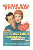 THE LONG, LONG TRAILER, Desi Arnaz, Lucille Ball, 1954 Reproduction giclée Premium
