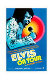 ELVIS ON TOUR, Elvis Presley on US poster art, 1972. Premium Giclee Print