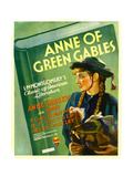 ANNE OF GREEN GABLES, Anne Shirley on window card, 1934 Plakater