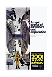 2001: A Space Odyssey, US poster, 1971 Poster