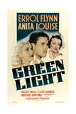 GREEN LIGHT, from left: Anita Louise, Errol Flynn, Margaret Lindsay, 1937 Prints