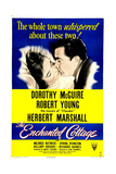 THE ENCHANTED COTTAGE, US poster, Dorothy McGuire, Robert Young, 1945 Posters