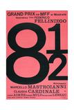 8 1/2, Polish poster, 1963 Kunstdrucke