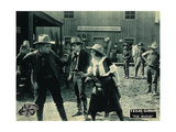 THE WILDCAT, right: Texas Guinan on lobbycard, 1920. Posters