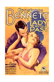 LADY WITH A PAST, US poster art, from top: Ben Lyon, Constance Bennett, 1932 Posters