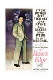 THE RAZOR'S EDGE Posters