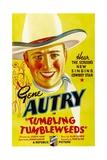 TUMBLING TUMBLEWEEDS, Gene Autry, 1935. Posters