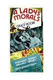 A LADY'S MORALS, from left: Reginald Denny, Grace Moore, 1930. Prints