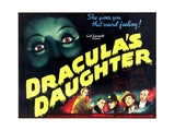 DRACULA'S DAUGHTER Art Print