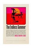 THE ENDLESS SUMMER, poster art, 1966. Kunstdrucke