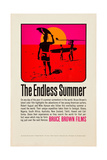 THE ENDLESS SUMMER, poster art, 1966. Print