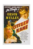 CITIZEN KANE, Orson Welles, 1941 Posters
