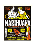 MARIHUANA, (aka MARIHUANA, THE WEED WITH ROOTS IN HELL!), 1936 Kunstdrucke